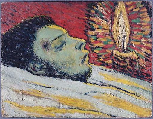 Смъртта на Касагемас, худ. Пабло Пикасо