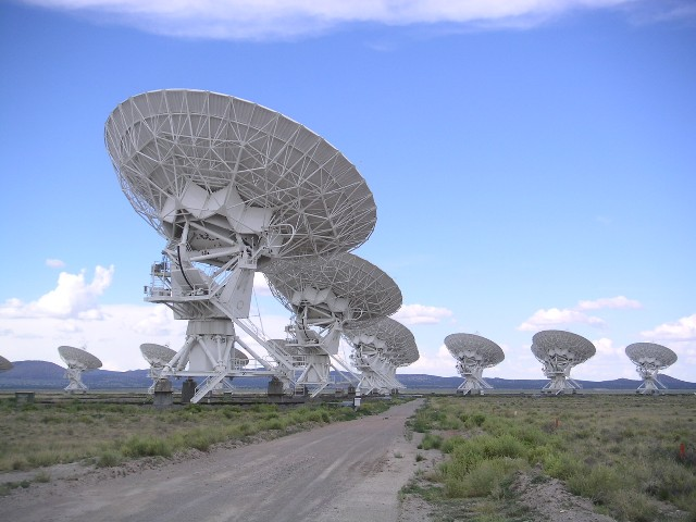 The Very Large Array, Ню Мексико, САЩ, Снимка: wikimedia.org